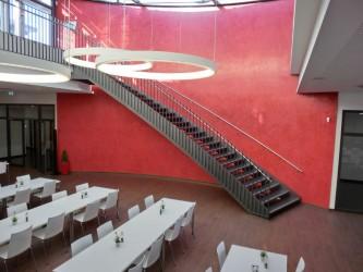 Stahltreppe innen B+S Kreis Schwäcisch Hall