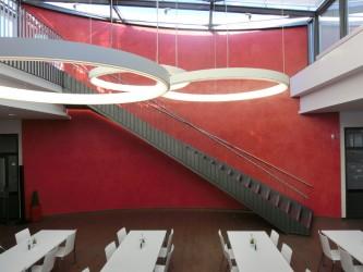 Stahltreppe innen B+S