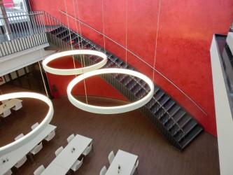 Wendeltreppe aus Stahl Raum Heilbronn