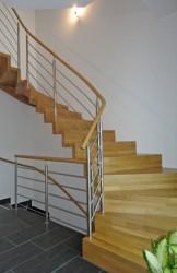 Holztreppe Künzelsau