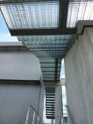 Kragarmtreppe Stufen von unten